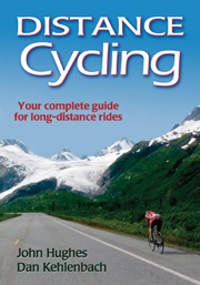 John Hughes Distance Cycling book from Human Kinetics.